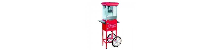 Popcorn & Zuckerwatte Maschinen