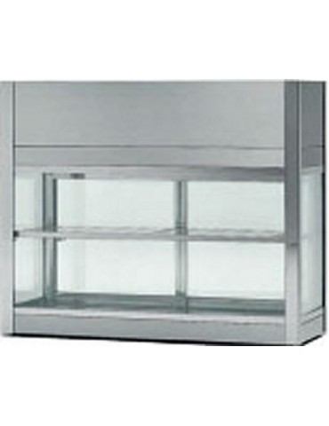 Cabinet 1 shelve in stainless steel 18/10