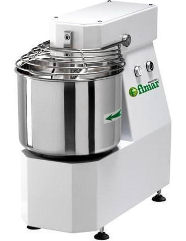 Spiral kneader with fixed head 12  KG / 16 lt / 750W