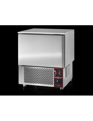 ATTILA -  Stainless Steel Blast Chiller/Shock Freezer for 3 pans GN1/1 or 600x400 mm pans