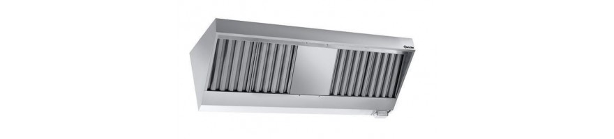 Wall hoods with motor